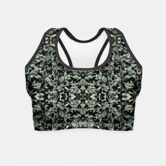 Thumbnail image of Chic Camo Abstract Print Crop Top, Live Heroes