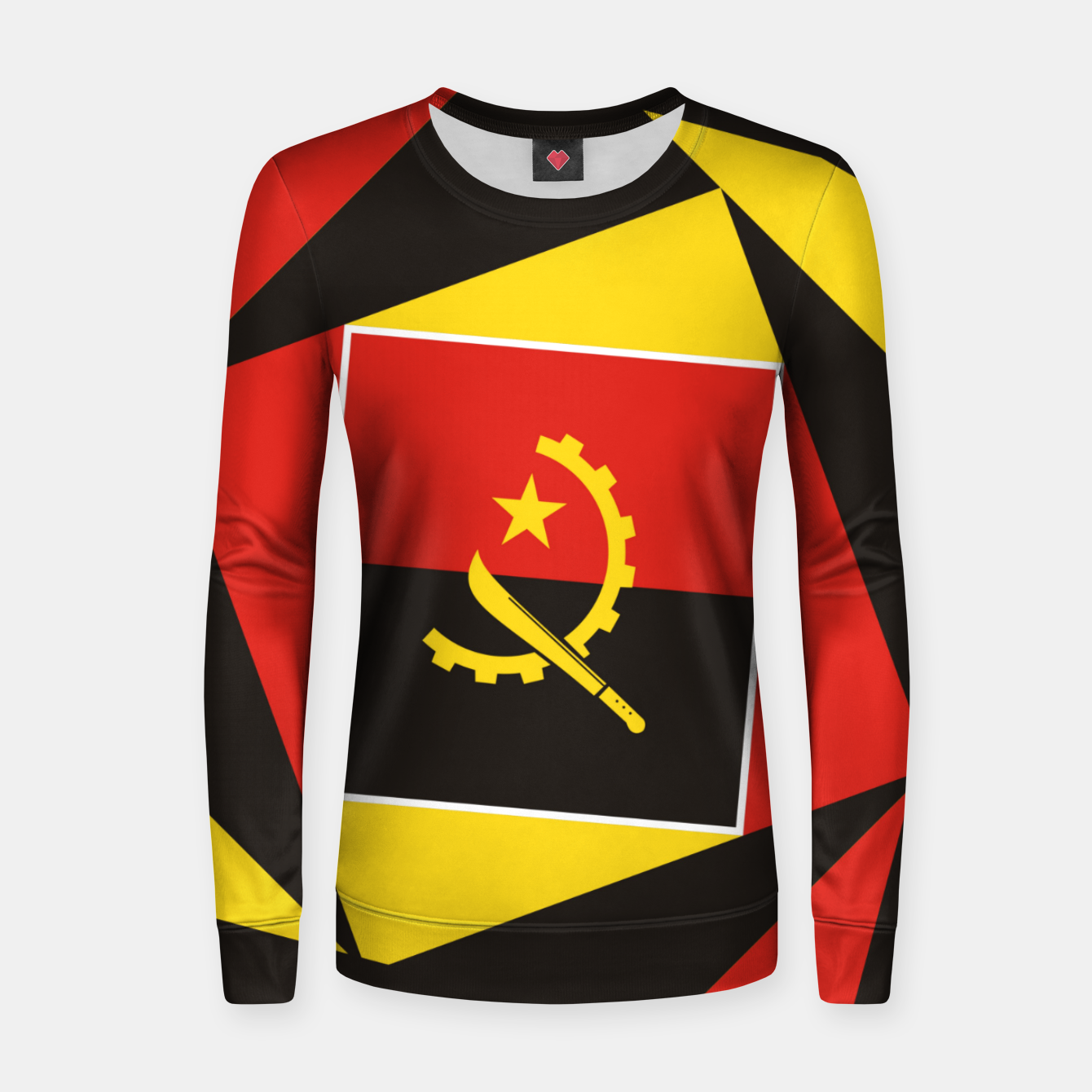 Image of ANGOLA Women sweater - Live Heroes