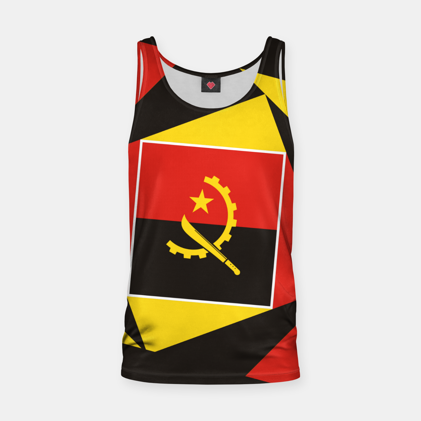 Image of ANGOLA Tank Top - Live Heroes