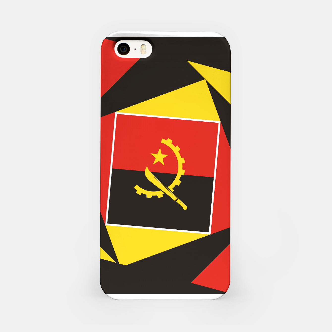 Image of ANGOLA iPhone Case - Live Heroes