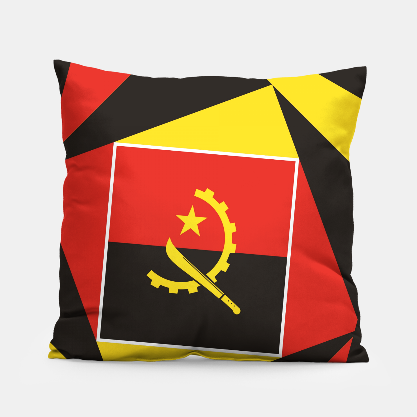 Image of ANGOLA Pillow - Live Heroes