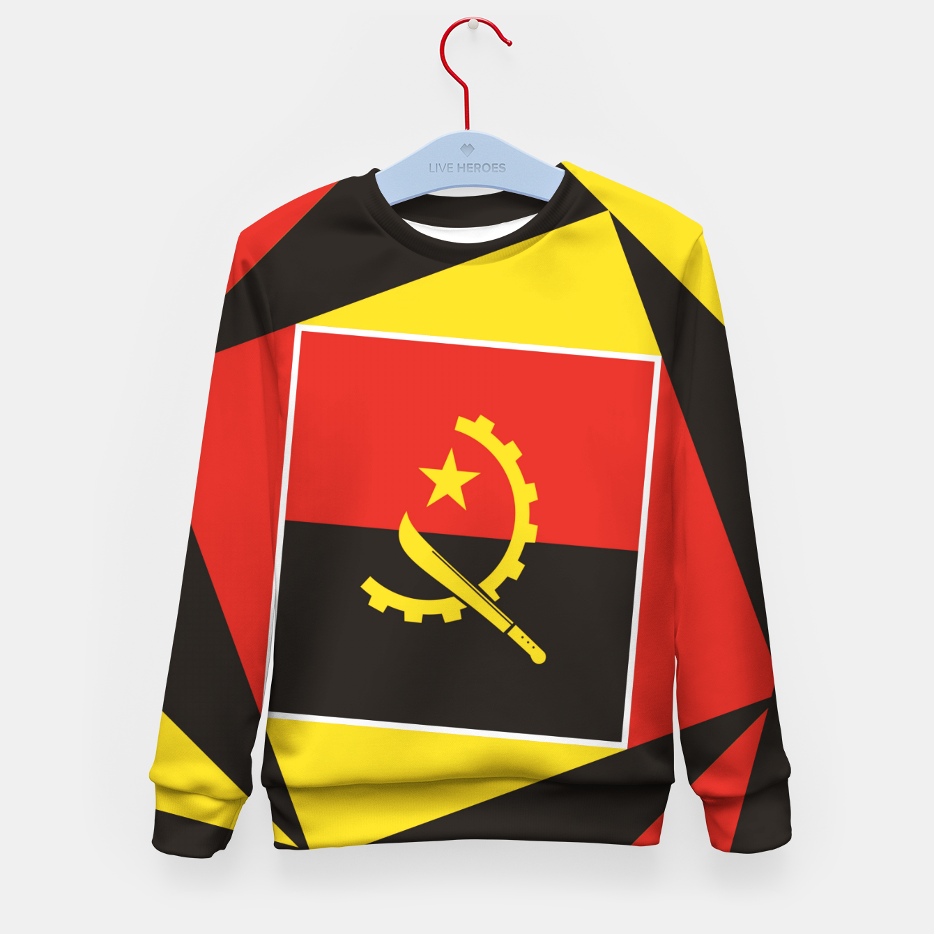 Image of ANGOLA Kid's sweater - Live Heroes