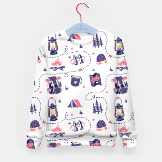 Thumbnail image of Camping Kid's sweater, Live Heroes