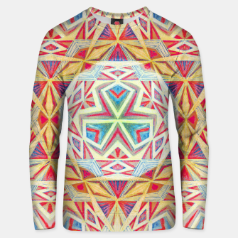 Thumbnail image of Tesseract Triad Pattern Unisex sweater, Live Heroes