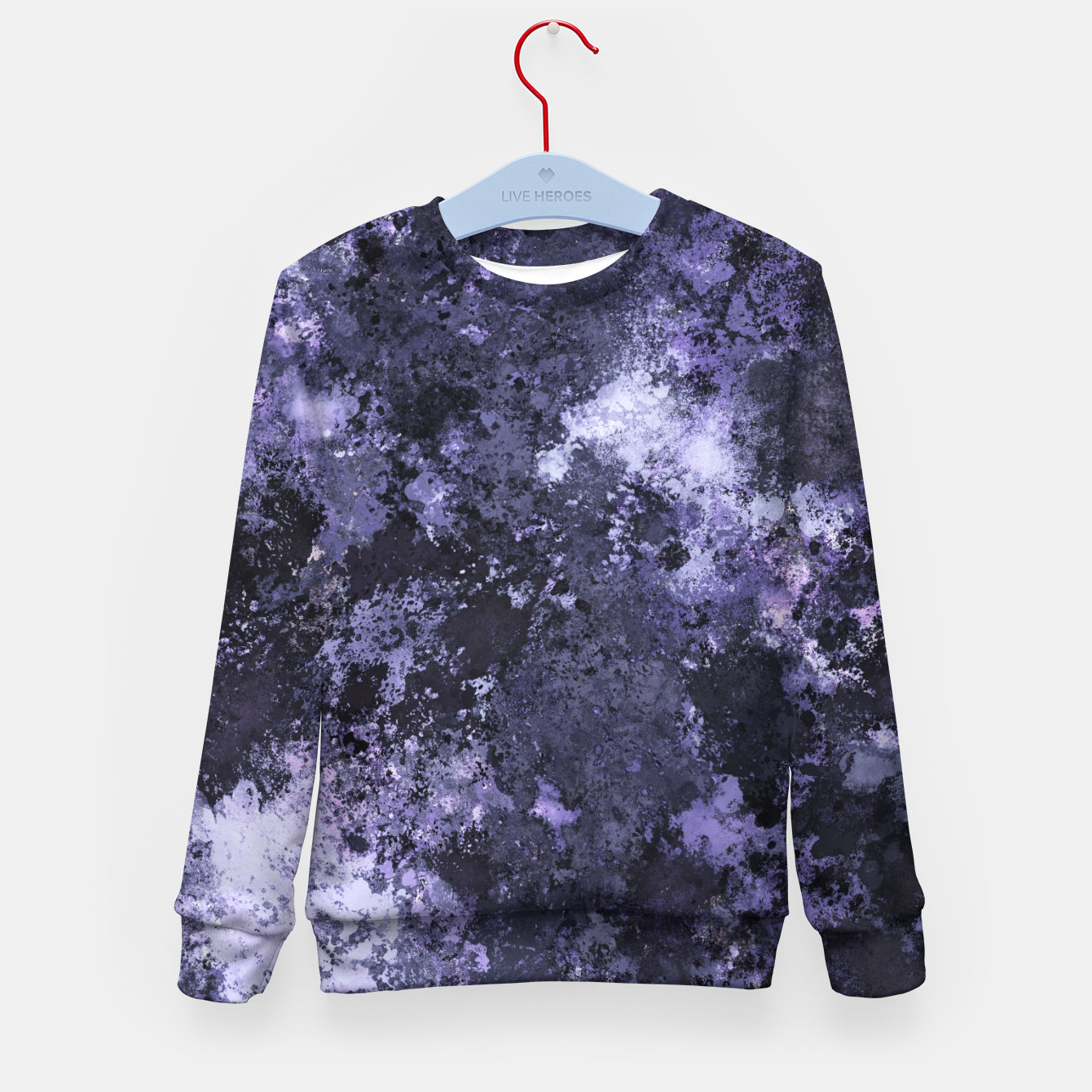 Image of Ahead of the darkness Kid's sweater - Live Heroes