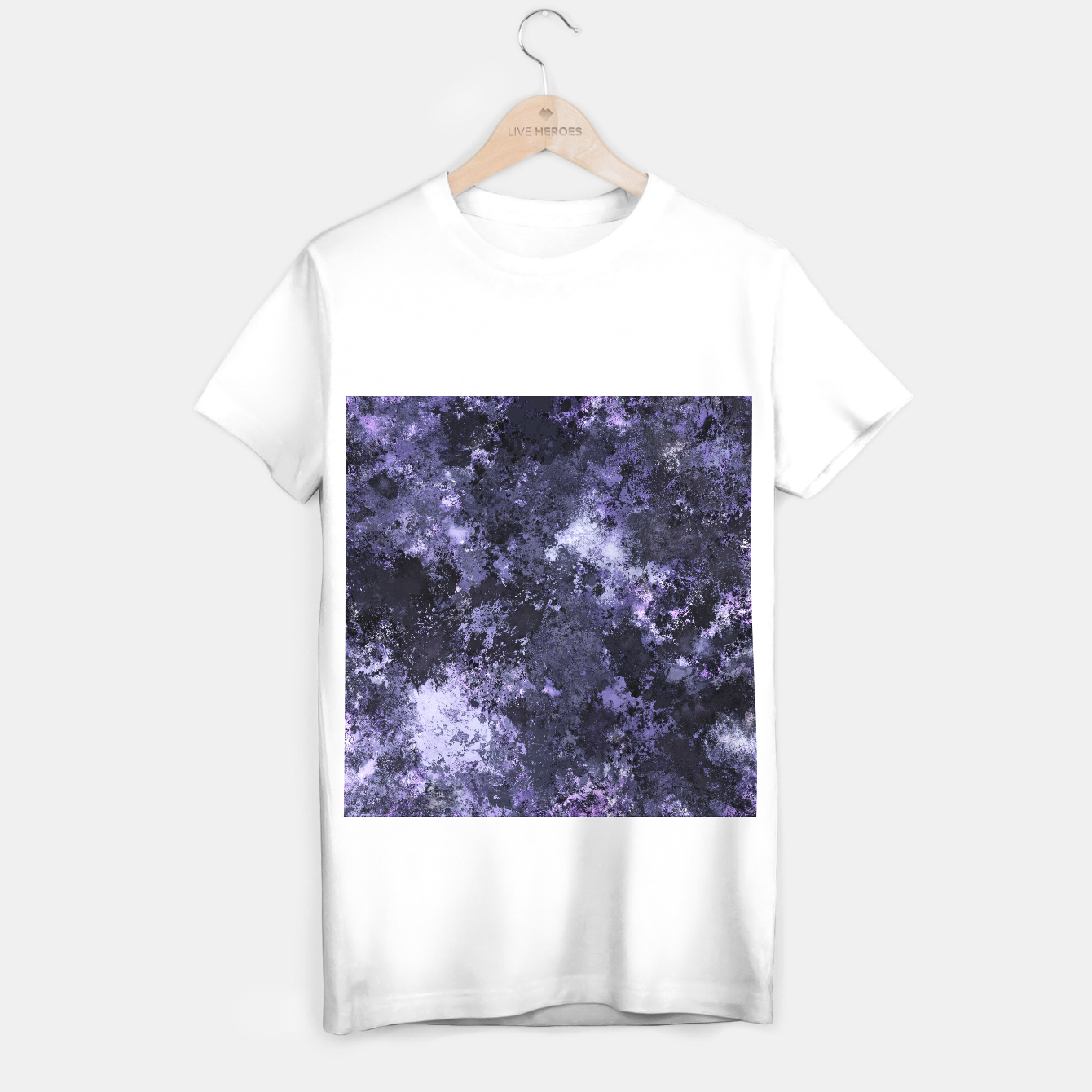 Image of Ahead of the darkness T-shirt regular - Live Heroes