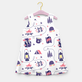 Thumbnail image of Camping Girl's summer dress, Live Heroes