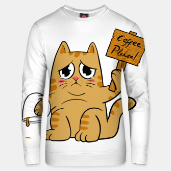 Thumbnail image of Coffee Please Unisex sweater, Live Heroes