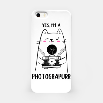 Yes, i'm a Photograpurr (for Light Color) iPhone Case thumbnail image