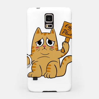 Thumbnail image of Coffee Please Samsung Case, Live Heroes