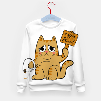 Thumbnail image of Coffee Please Kid's sweater, Live Heroes