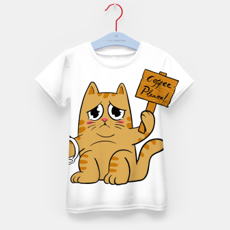 Thumbnail image of Coffee Please Kid's t-shirt, Live Heroes