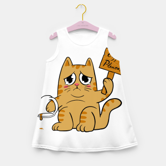 Thumbnail image of Coffee Please Girl's summer dress, Live Heroes