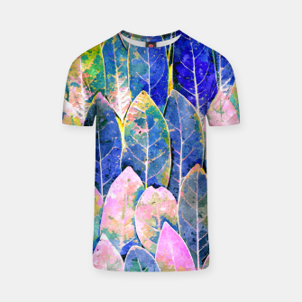 Thumbnail image of The Grand Scheme of Leaves T-shirt, Live Heroes