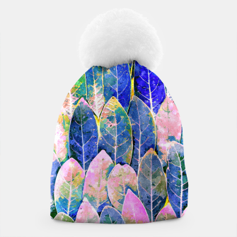 Thumbnail image of The Grand Scheme of Leaves Beanie, Live Heroes