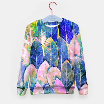 Thumbnail image of The Grand Scheme of Leaves Kid's sweater, Live Heroes