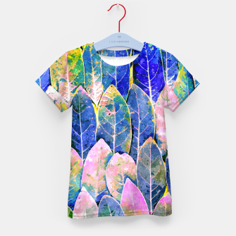 Thumbnail image of The Grand Scheme of Leaves Kid's t-shirt, Live Heroes