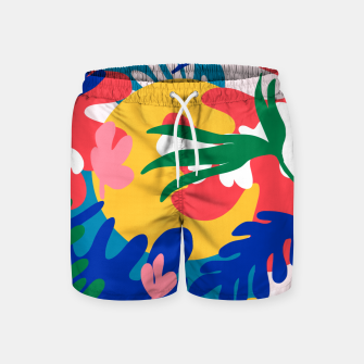 Thumbnail image of Mexican Summer Swim Shorts, Live Heroes