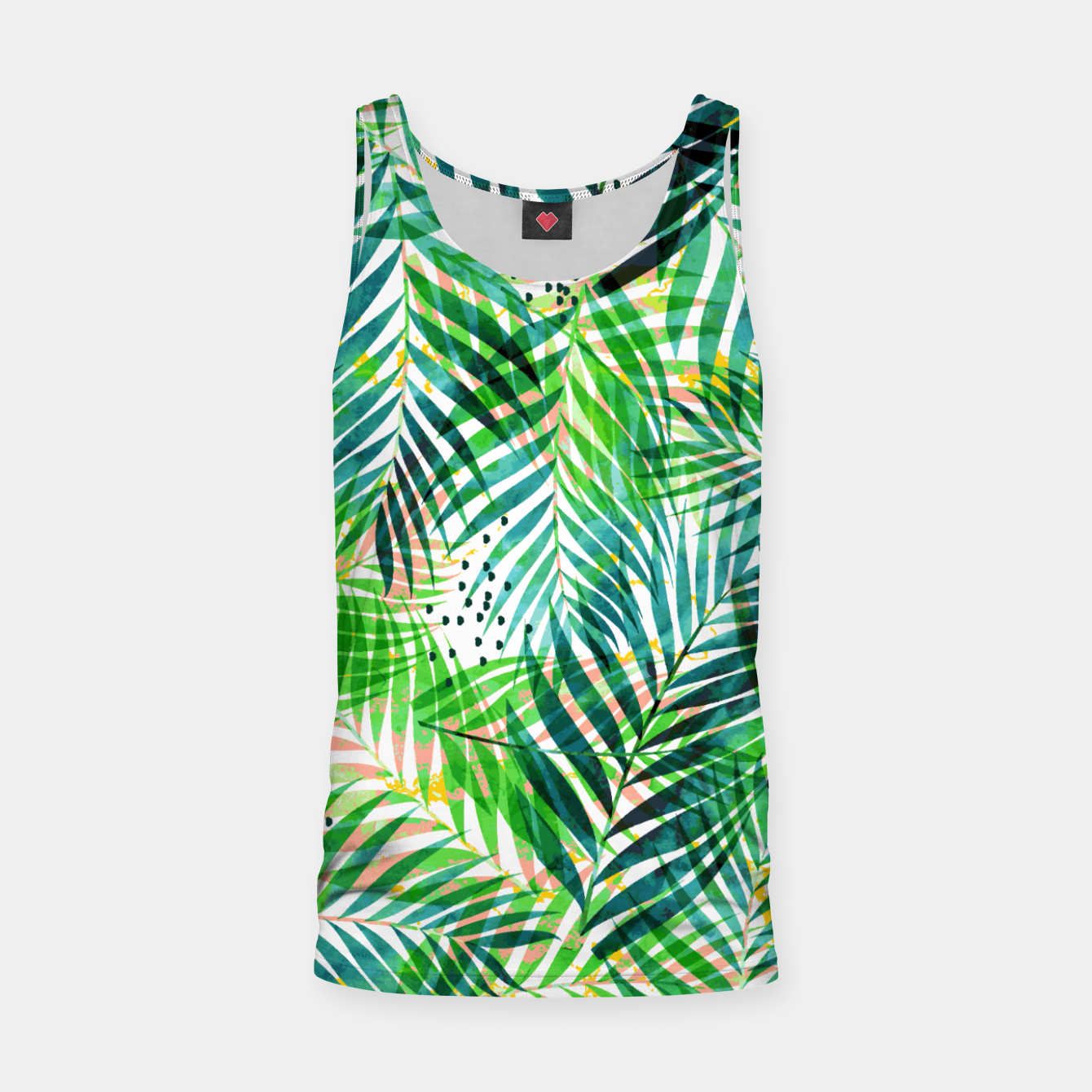Image of Jungle Palm  Tank Top - Live Heroes