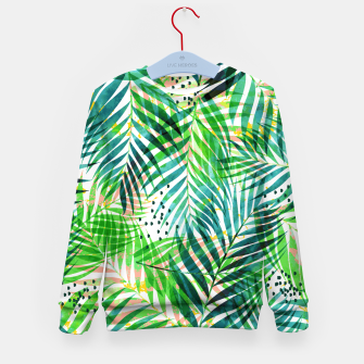 Thumbnail image of Jungle Palm  Kid's sweater, Live Heroes