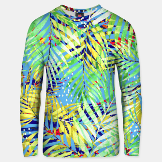 Thumbnail image of Winter Palm Unisex sweater, Live Heroes