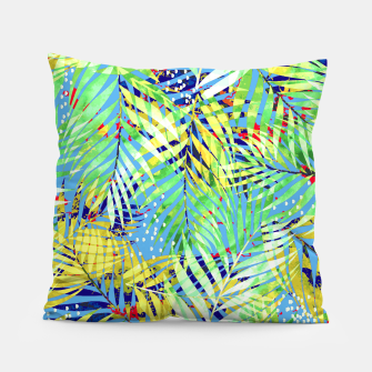 Thumbnail image of Winter Palm Pillow, Live Heroes