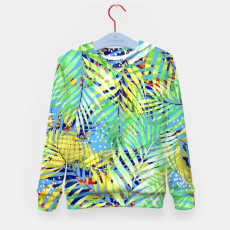 Thumbnail image of Winter Palm Kid's sweater, Live Heroes