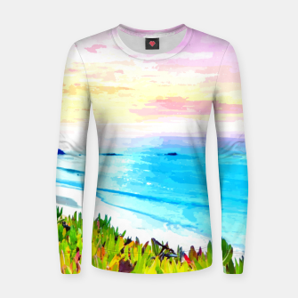 Thumbnail image of The Forgotten Beach  Women sweater, Live Heroes