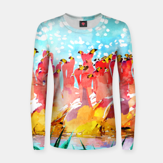 Thumbnail image of Save The Tropics Series Women sweater, Live Heroes