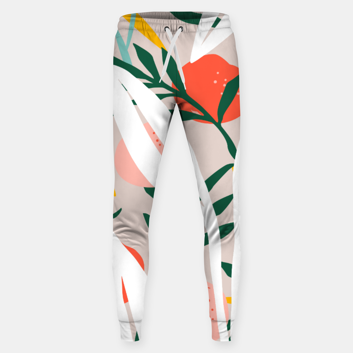 Image of Abstract Plant Blush  Sweatpants - Live Heroes