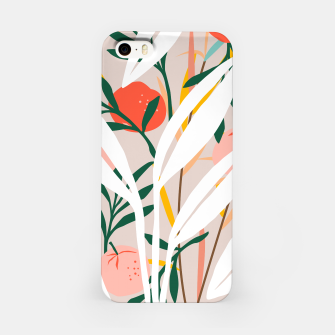 Abstract Plant Blush  iPhone Case thumbnail image