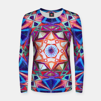 Thumbnail image of Tesseract Star Women sweater, Live Heroes