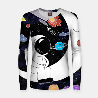 Thumbnail image of shoot for the stars Women sweater, Live Heroes