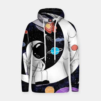Thumbnail image of shoot for the stars Hoodie, Live Heroes