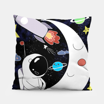 Thumbnail image of shoot for the stars Pillow, Live Heroes