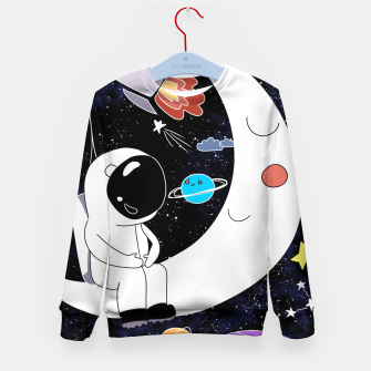 Thumbnail image of shoot for the stars Kid's sweater, Live Heroes