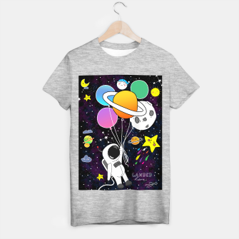 Thumbnail image of landed here  T-shirt regular, Live Heroes