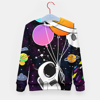 Thumbnail image of landed here  Kid's sweater, Live Heroes