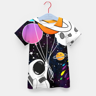 Thumbnail image of landed here  Kid's t-shirt, Live Heroes