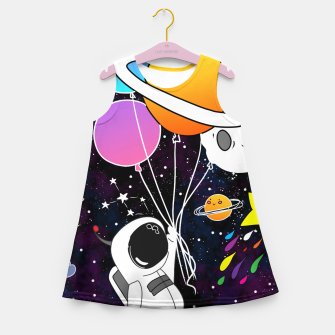 Thumbnail image of landed here  Girl's summer dress, Live Heroes