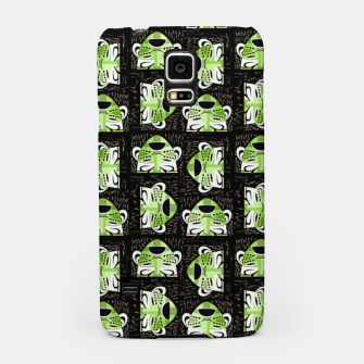Thumbnail image of Tribal faces pattern Samsung Case, Live Heroes