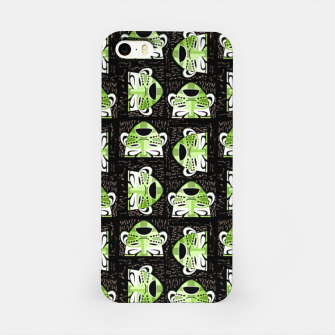 Thumbnail image of Tribal faces pattern iPhone Case, Live Heroes