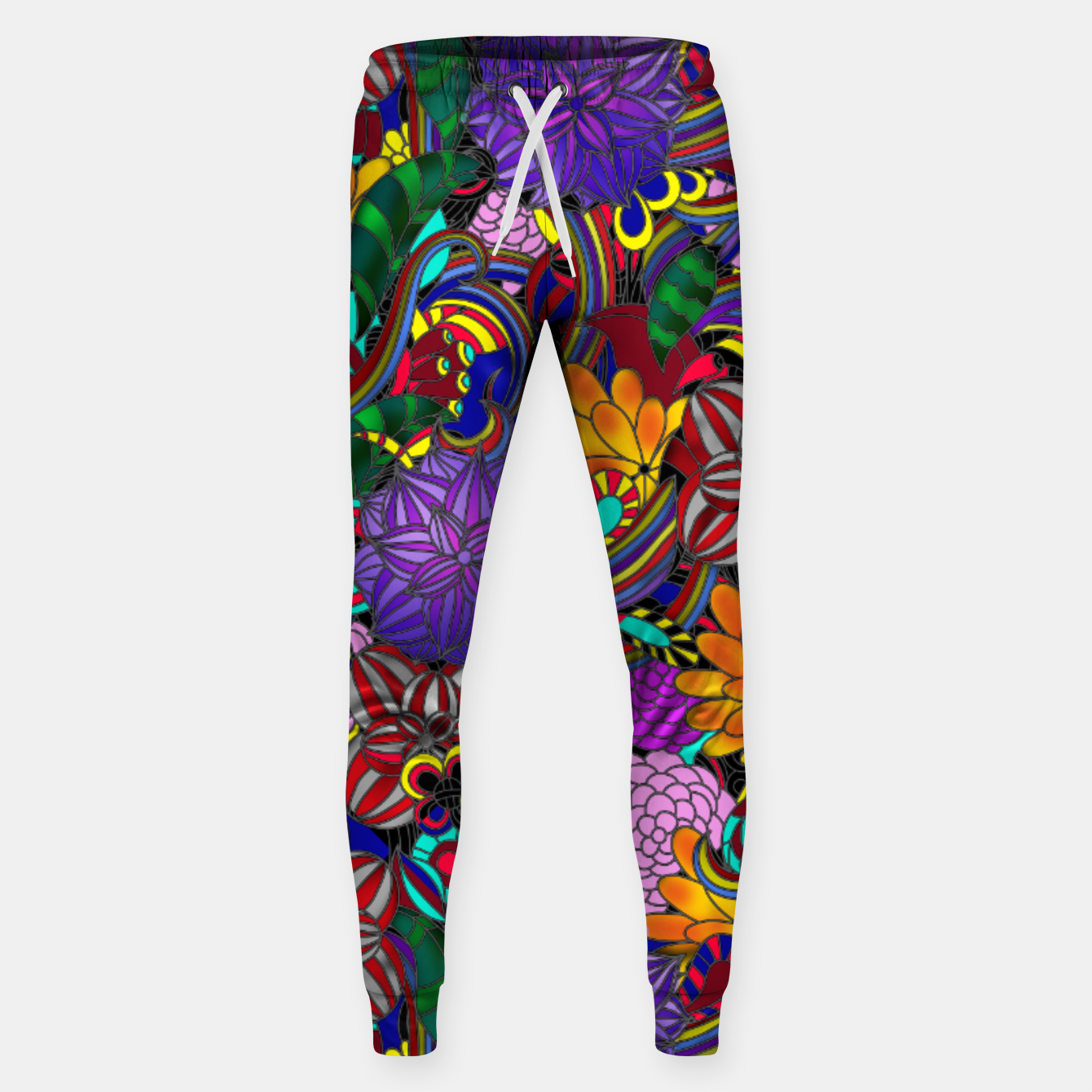 Image of Flowers and Rainbows Sweatpants - Live Heroes