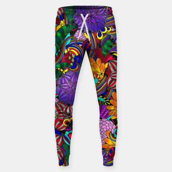 Thumbnail image of Flowers and Rainbows Sweatpants, Live Heroes