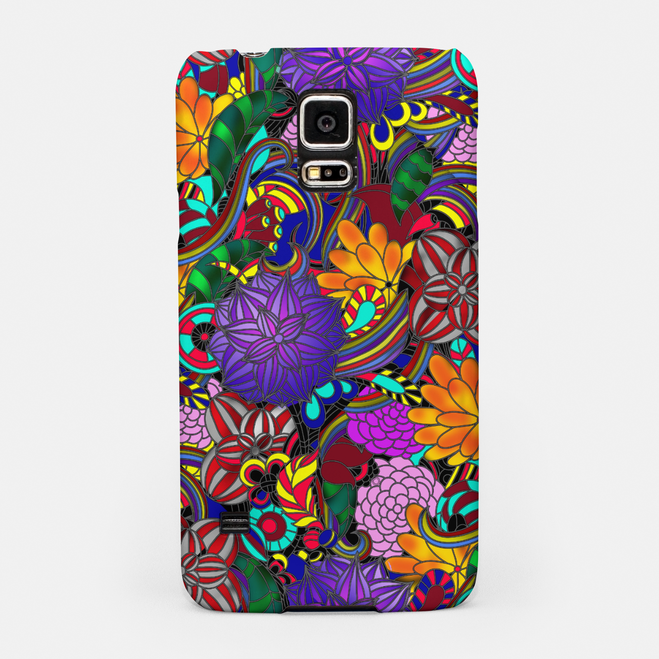 Image of Flowers and Rainbows Samsung Case - Live Heroes