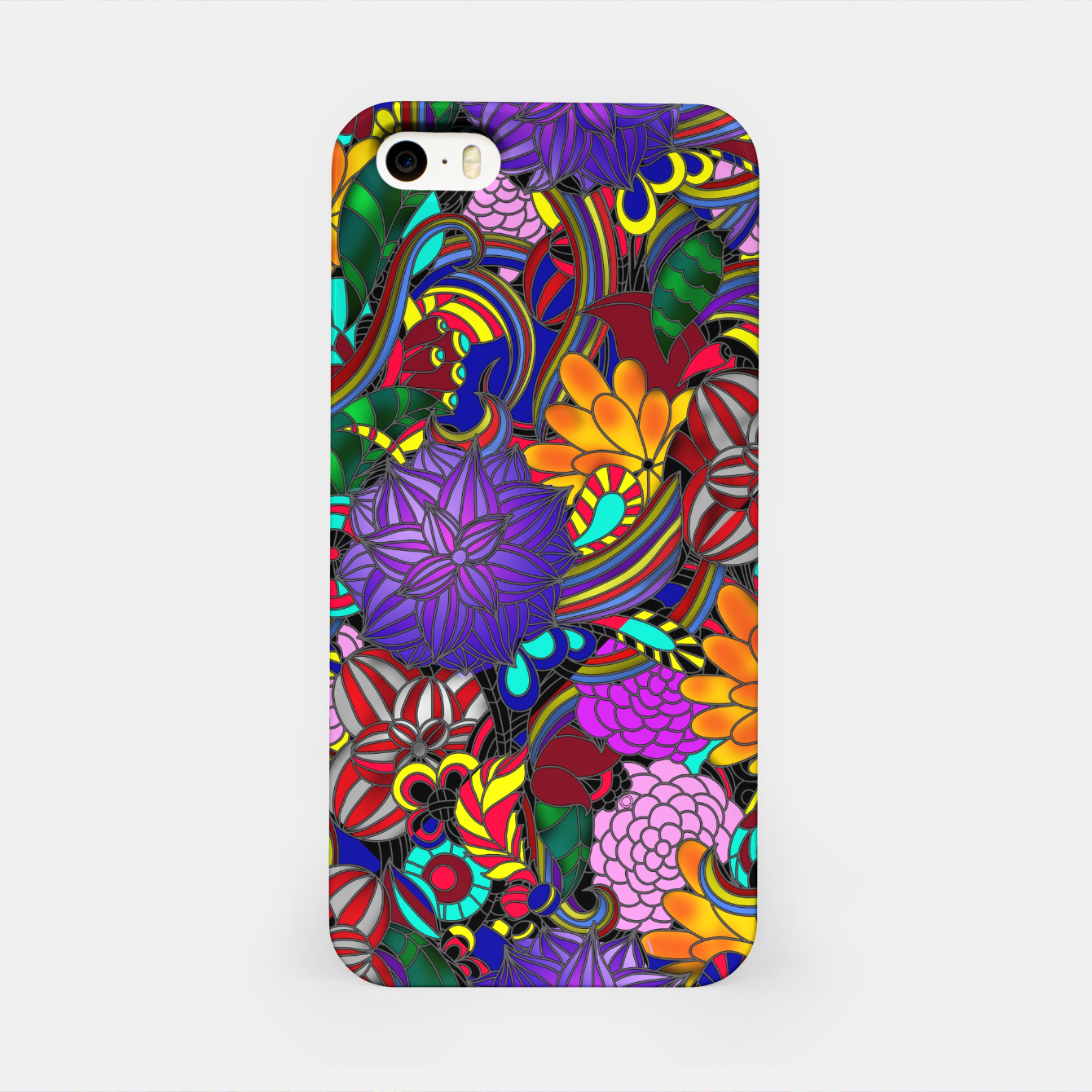 Image of Flowers and Rainbows iPhone Case - Live Heroes