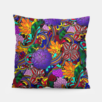 Thumbnail image of Flowers and Rainbows Pillow, Live Heroes
