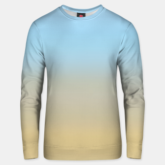 Thumbnail image of Abstract ombre ocean beach Unisex sweater, Live Heroes