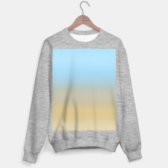 Thumbnail image of Abstract ombre ocean beach Sweater regular, Live Heroes