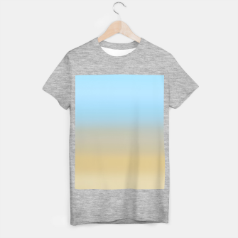 Thumbnail image of Abstract ombre ocean beach T-shirt regular, Live Heroes